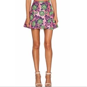 NBD If I Could Mini Skirt. Size XS. NWT. $168